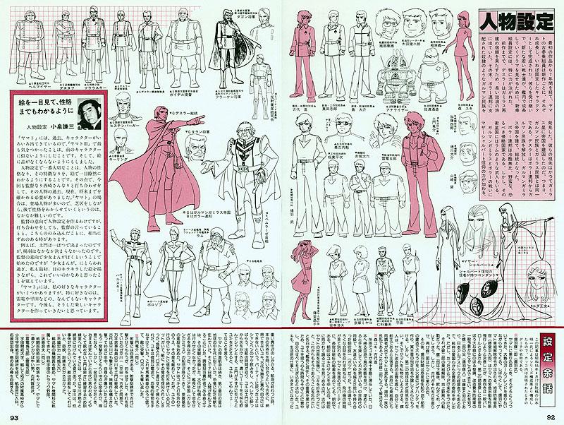 Character Design Magazine : My anime magazine cosmodna